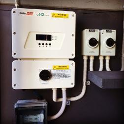 SolarEdge Inverter installed at Lake Heights